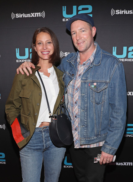 SiriusXM Presents U2 Live At The Apollo [event,premiere,denim,outerwear,textile,technology,jeans,performance,jacket,smile,christy turlington,edward burns,siriusxm presents u2 live at the apollo,the apollo theater,band,l,u2,siriusxm,concert,experience innocence tour]