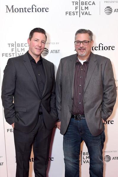 Tribeca Film Festival Summertime Premiere With Tribeca Talks: Storytellers  - Ed Burns  - 2018 Tribeca Film Festival [tribeca film festival summertime premiere with tribeca talks: storytellers - ed burns,summertime,suit,event,premiere,white-collar worker,facial hair,ed burns,mike vaccaro,writer,director,l,bmcc tribeca pac,tribeca film festival,premiere]