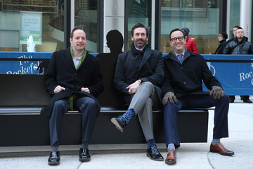 Ed Carroll 'Mad Men' Sculpture Unveiled at Time & Life Building