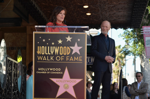 Ed Harris Honored on the Walk of Fame