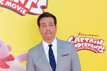 Ed Helms Premiere of 20th Century Fox's 'Captain Underpants: The First Epic Movie'- Red Carpet