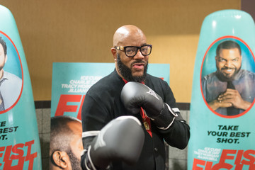 Ed Lover 'Fist Fight' Atlanta VIP Screening With Cast Member Ice Cube