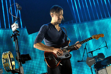 Ed O'Brien Radiohead Perform At The 02 Arena