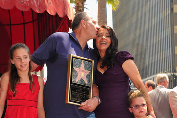 Cathy O'Neill Ed O'Neil Honored On The Hollywood Walk Of Fame