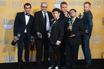 Ed O'Neill Ty Burrell 20th Annual Screen Actors Guild Awards - Press Room