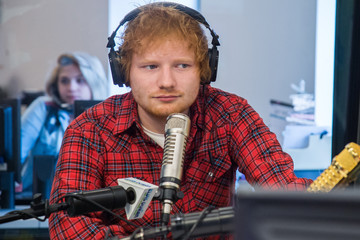 Ed Sheeran Ed Sheeran and Jamie Lawson 'The Elvis Duran Z100 Morning Show'