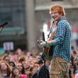 "Ed Sheeran Performs On NBC's ""Today"""