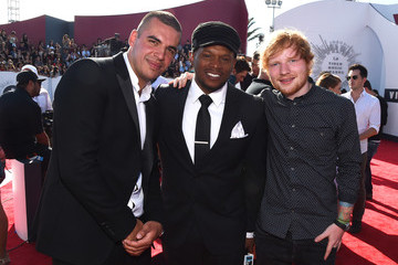 Ed Sheeran Arrivals at the MTV Video Music Awards — Part 2