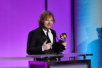 Ed Sheeran The 58th GRAMMY Awards - Premiere Ceremony