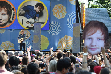 Ed Sheeran Ed Sheeran Performs on ABC's 'Good Morning America'