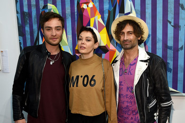 Ed Westwick The Art Of Elysium And Samsung Galaxy Present The 8th Annual Pieces Of Heaven Art Auction