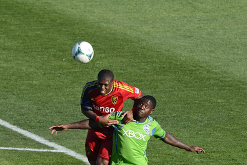 Eddie Johnson Real Salt Lake v Seattle Sounders - FC Tucson Desert Diamond Cup