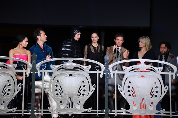 """""""Fantastic Beasts: The Crimes Of Grindelwald"""" World Premiere At UCG Bercy In Paris"""