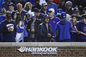 Eddie Vedder Wild Card Game - Colorado Rockies v Chicago Cubs