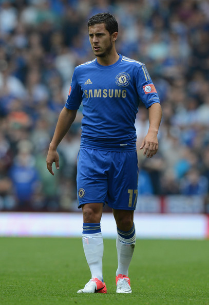 Eden Hazard - Manchester City v Chelsea - FA Community Shield