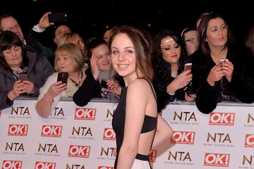 Eden Taylor-draper Arrivals at the National Television Awards