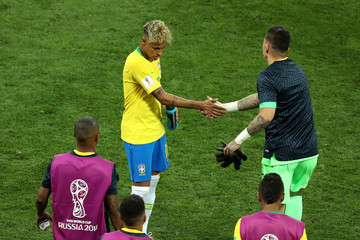 Ederson Brazil vs. Switzerland: Group E - 2018 FIFA World Cup Russia