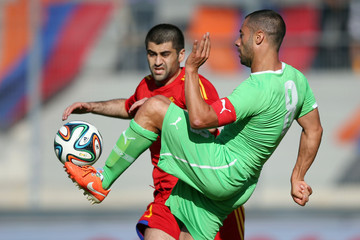 Edgar Manucharyan Algeria v Armenia - International Friendly