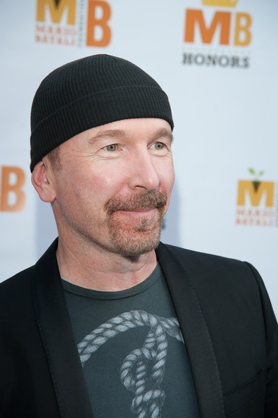 The Edge The Edge attends The Mario Batali Foundation Inaugural Honors Dinner at Del Posto Ristorante on September 9, 2012 in New York City.