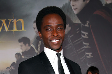 "Edi Gathegi Premiere Of Summit Entertainment's ""The Twilight Saga: Breaking Dawn - Part 2"" - Red Carpet"