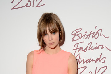 Edie Campbell British Fashion Awards 2012 - Inside Arrivals