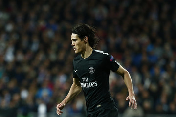 Edinson Cavani Real Madrid v Paris Saint-Germain - UEFA Champions League Round of 16: First Leg