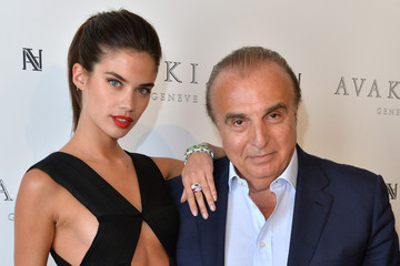 Edmond Avakian Sara Sampaio Visits the Avakian Suite During the 68th Annual Cannes Film Festival