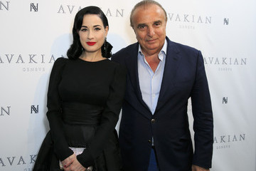 Edmond Avakian Dita Von Teese Visits The Avakian Suite