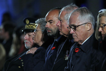 Edouard Philippe Anzac Day: Centenary of the Battle Of Villers-Bretonneux