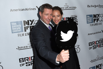 Edward Burns 53rd New York Film Festival - 'Bridge of Spies' - Red Carpet