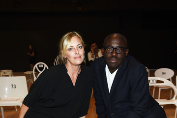 Edward Enninful Marc Jacobs Spring 2020 Runway Show - Front Row