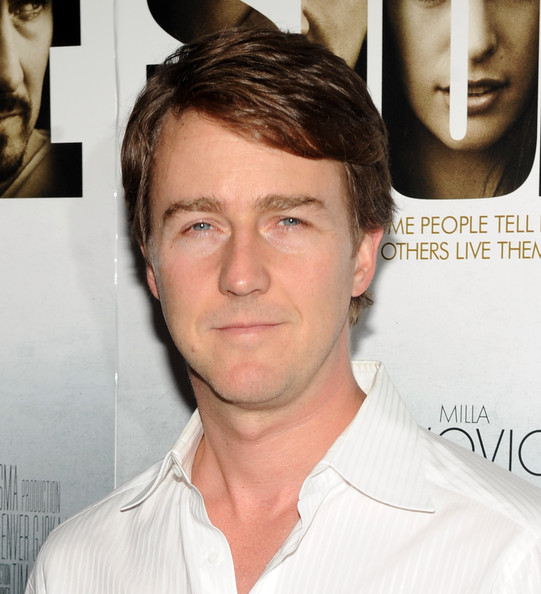 "Edward Norton Actor Edward Norton attends the New York Premiere of ""Stone""at MOMA on October 5, 2010 in New York City."