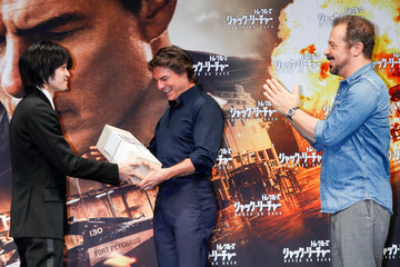 Edward Zwick 'Jack Reacher: Never Go Back' Press Conference and Photocall In Tokyo