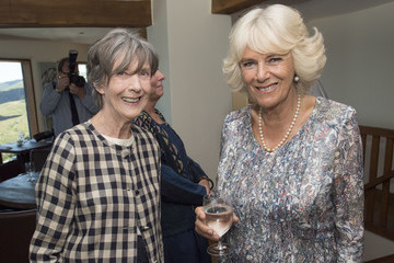 Eileen Atkins The Duke and Duchess of Cornwall Visit Port Isaac