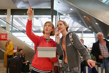 Eileen Collins Power Outage at Sydney's T2 Domestic Terminal