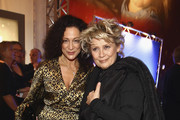 (L-R) Barbara Wussow and Gitte Haenning attend the 'Ein Herz fuer Kinder' Charity gala after party on December 17, 2011 in Berlin, Germany.