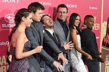 Eiza Gonzalez Ansel Elgort Premiere of Sony Pictures' 'Baby Driver' - Arrivals