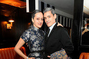 Fashion designer Isabel Toledo (L) and husband artist Ruben Toledo attend the El Museo Del Barrio Pre-Gala Bash at Omar's on February 29, 2016 in New York City.