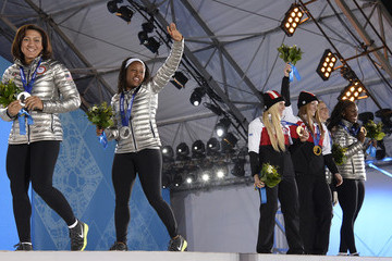 Elana Meyers Winter Olympics: Medal Ceremonies