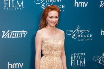 Eleanor Tomlinson 'Newport Beach Film Festival' Annual UK Honours - Red Carpet Arrivals