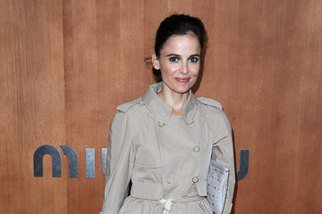 Elena Anaya Miu Miu: Photocall - Paris Fashion Week Womenswear Spring / Summer 2013