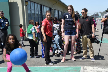 Elena Foster Missy Franklin Project Visit