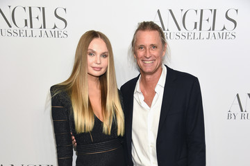 Elena Matei Cindy Crawford And Candice Swanepoel Host 'ANGELS' By Russell James Book Launch And Exhibit - Arrivals