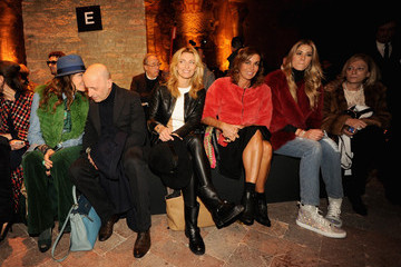 Elena Santarelli Front Row at the Simonetta Ravizza Show
