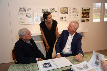 Eli Broad Laurence & Patrick Seguin Host an Intimate Dinner in Celebration of the Opening of Their London Gallery