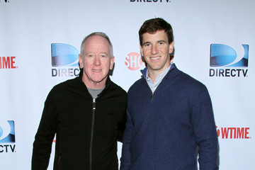 Eli Manning DirecTV Celebrity Beach Bowl - Arrivals