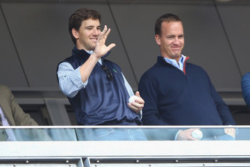 Eli Manning Tampa Bay Rays v New York Yankees