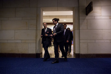 Eliot Engel Members of the House Are Briefed on North Korea by Top Trump Administration Officials