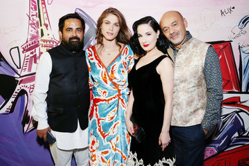 Elisa Sednaoui Christian Louboutin and Sabyasachi Unveil Capsule Collection at Just One Eye