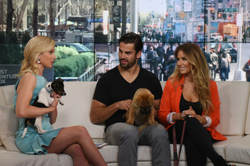 Elisabeth Hasselbeck Eric Decker And Jesse James Visit FOX And Friends